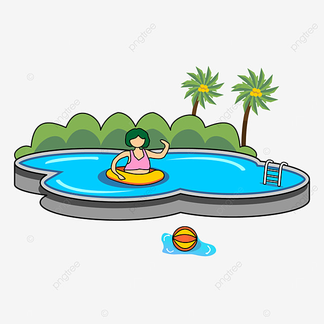 Outdoor Swimming Pool Clipart Swimming Pool Clipart Swimming Pool Clipart Png And Vector With Transparent Background For Free Download