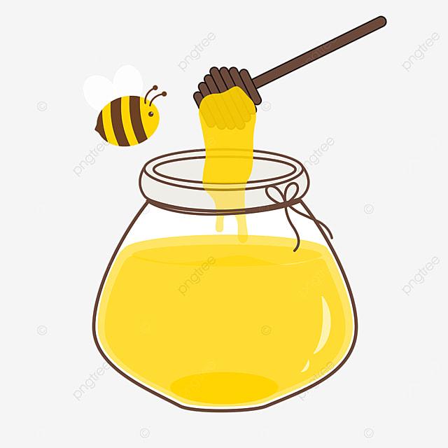 vector cartoon honey clipart cute bee