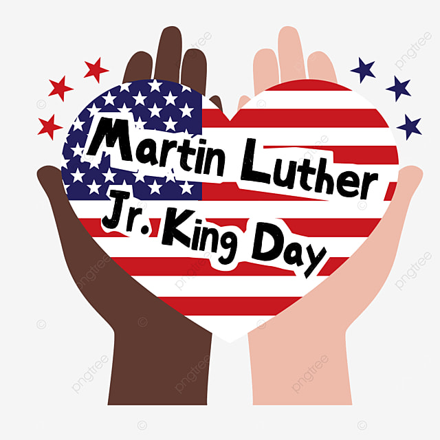 drag this loving heart with both hands martin luther king jr day