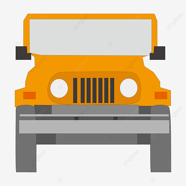 cartoon jeep clip art