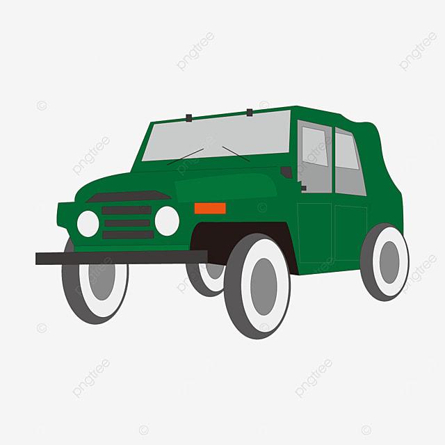 dark green jeep clip art