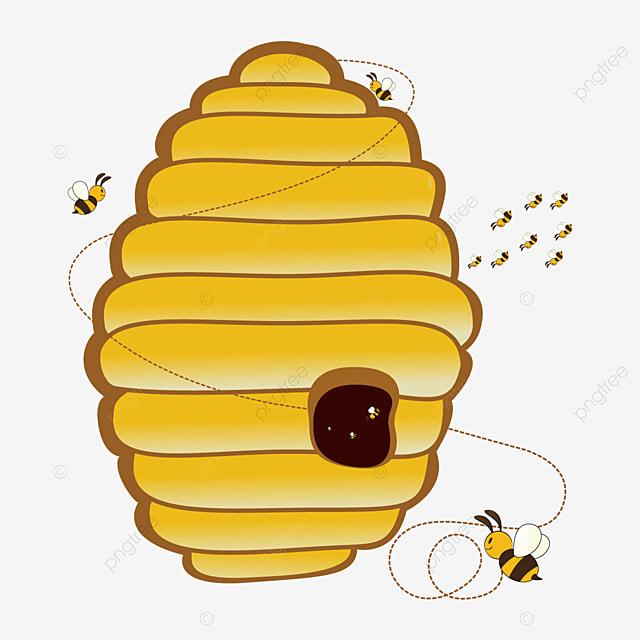 natural beehive beehive clip art