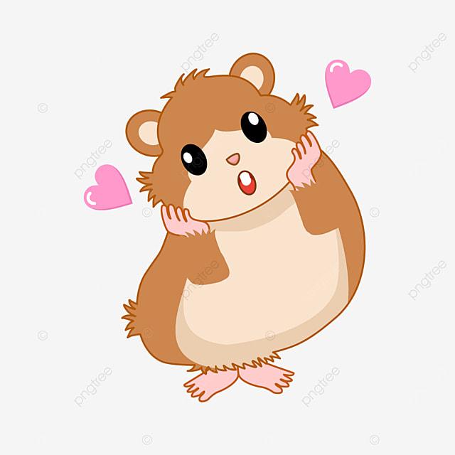 cute hamster clipart