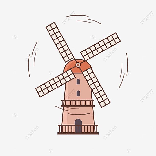 rotating windmill clip art