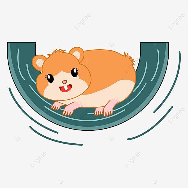 running hamster clip art