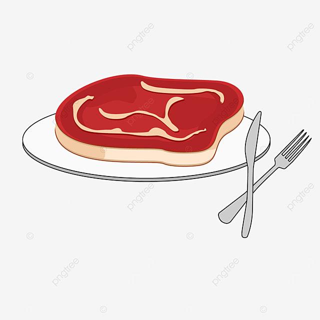 western steak meat clipart