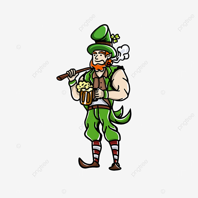 character muscle st patrick