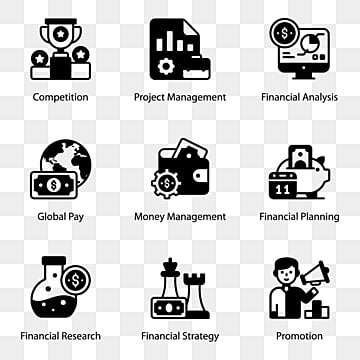 Finance Icons Png Vector Psd And Clipart With Transparent Background For Free Download Pngtree