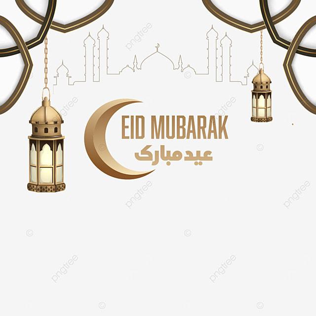 3d candle eid mubarak