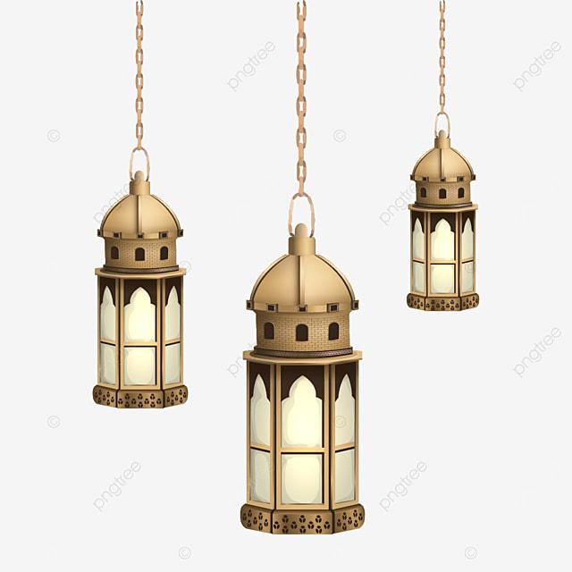 3d eid mubarak candle 01