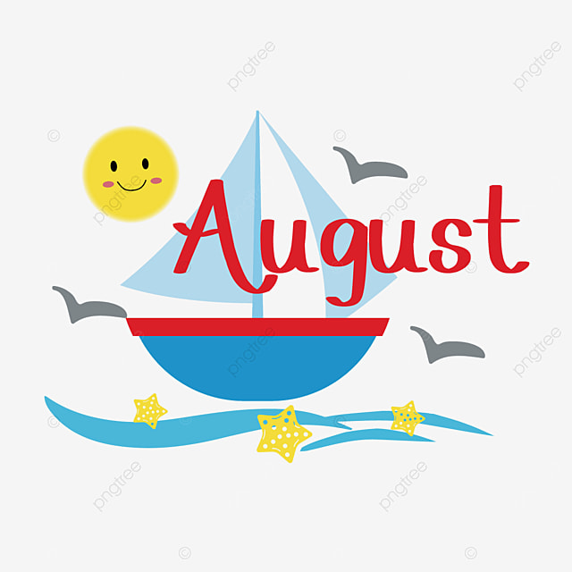 august sailing clip art svg