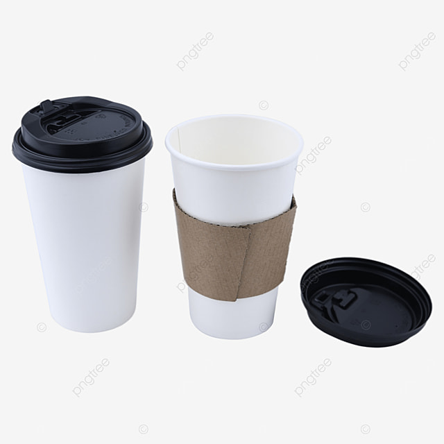 disposable portable paper cup packaging