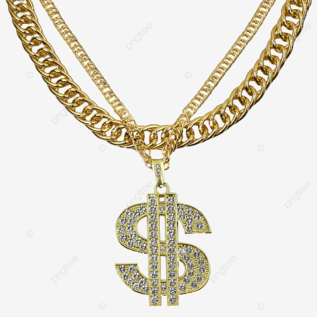dollar sign gold jewelry