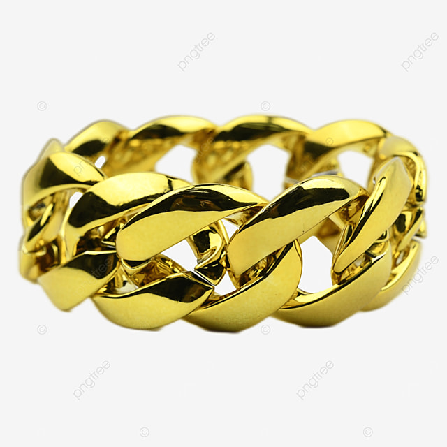 financial accessories gold metal