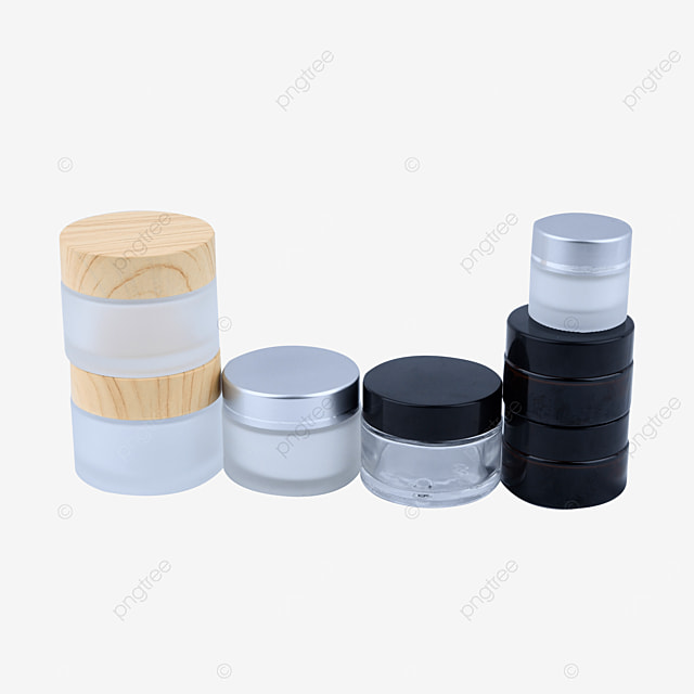 frosted glass cosmetic set sub bottling