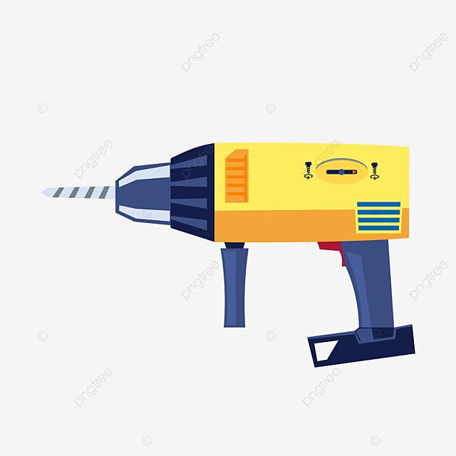 industrial impact drill electric drill multipurpose drill bit clipart
