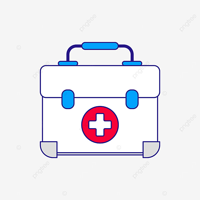white first aid kit clipart
