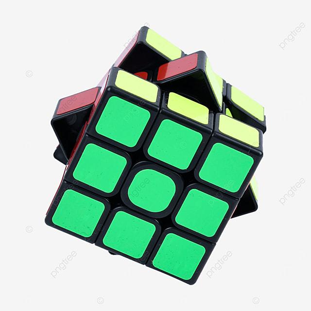 color childrens puzzle cube