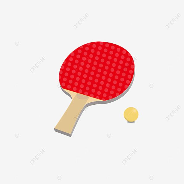 three dimensional table tennis clipart