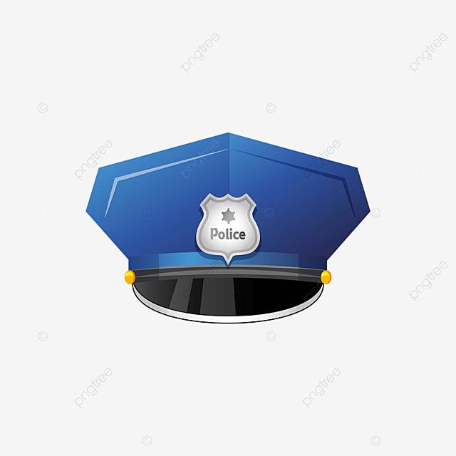 tough police cap clip art