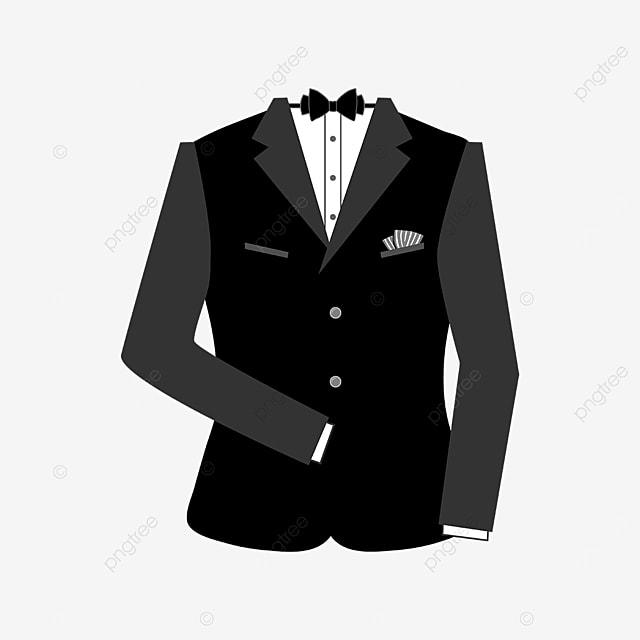 black bow tie tuxedo clipart