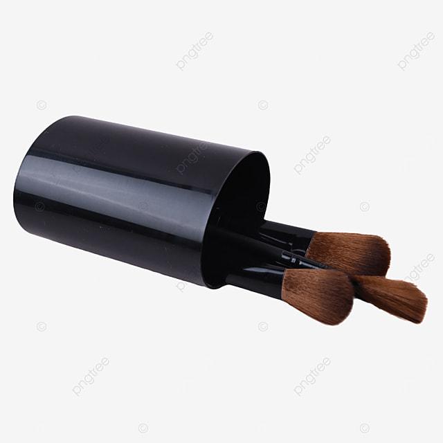 black pen holder brush makeup brush