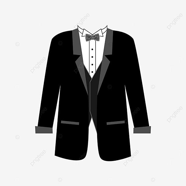 black striped bow tie tuxedo clipart
