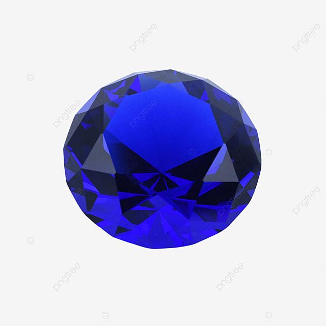 blue crystal gem diamond accessories