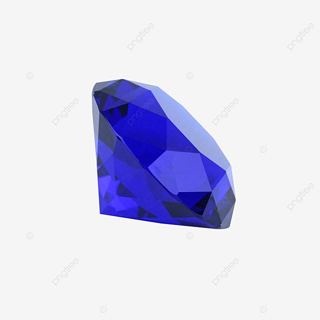 blue crystal gem diamond jewelry