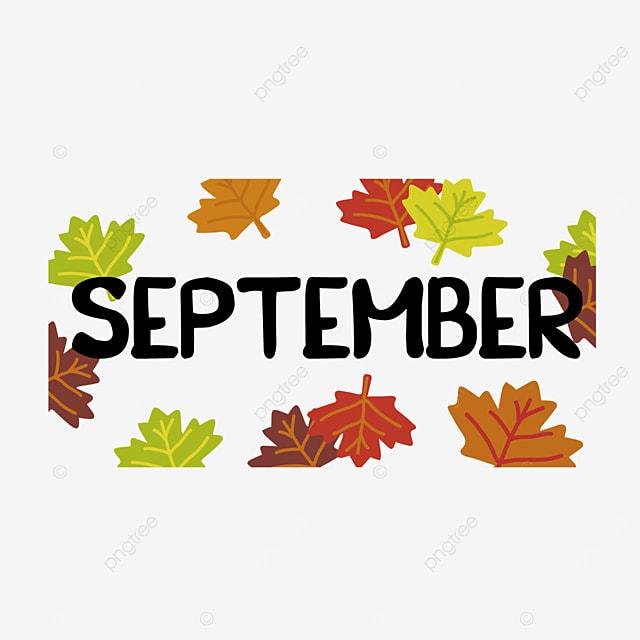 color maple leaf decoration september clipart svg