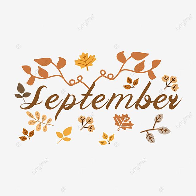 elegant autumn plant decoration september clipart svg