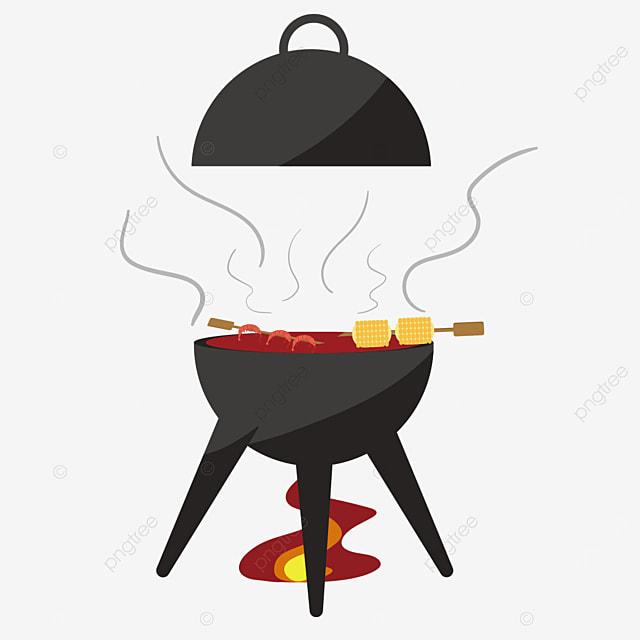 firing oven barbecue clip art