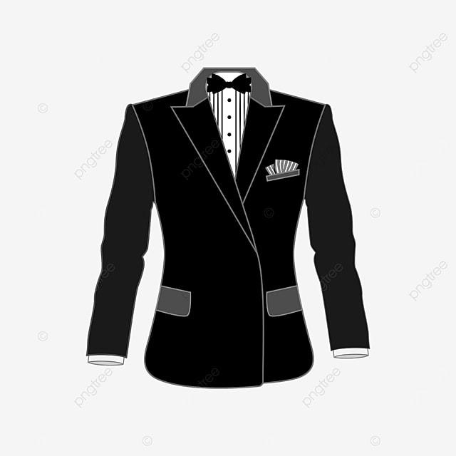 handkerchief tuxedo clip art