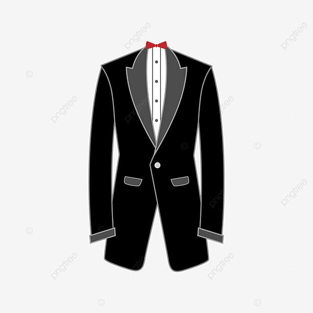 long dress tuxedo clip art
