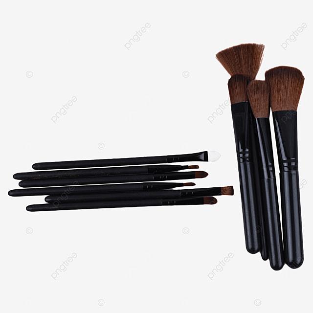 makeup brush tool black brush