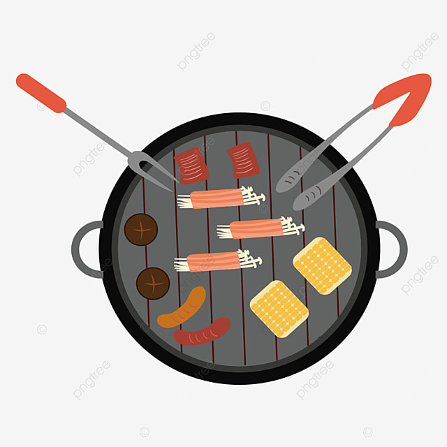 nutritious barbecue clipart