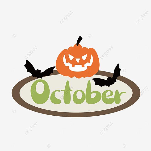 october halloween pumpkin clip art svg