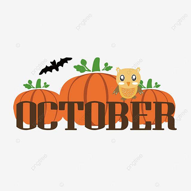 october orange pumpkin clip art svg