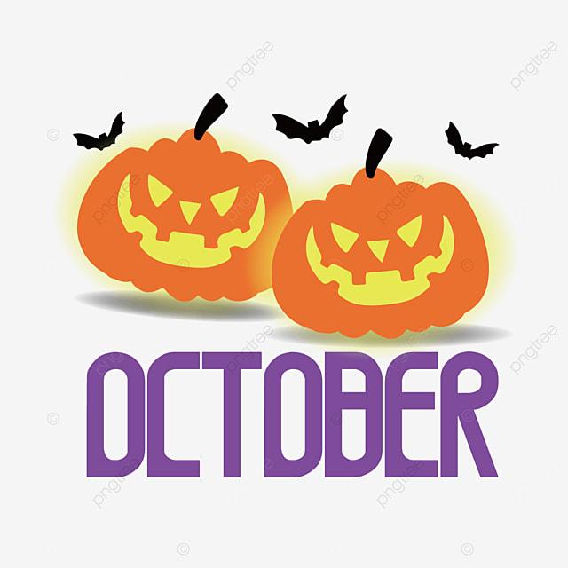 october pumpkin bat clip art svg