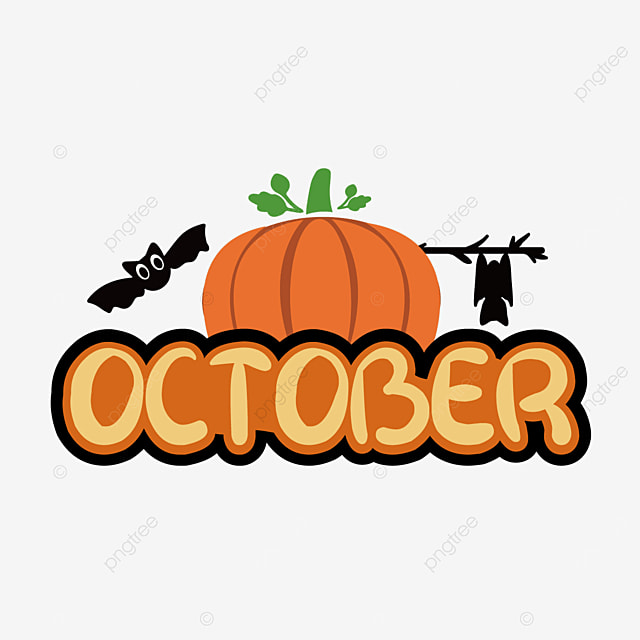 october pumpkin creative clipart svg