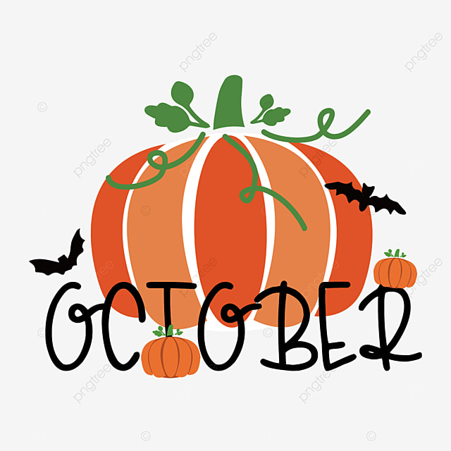 october pumpkin plant clip art svg