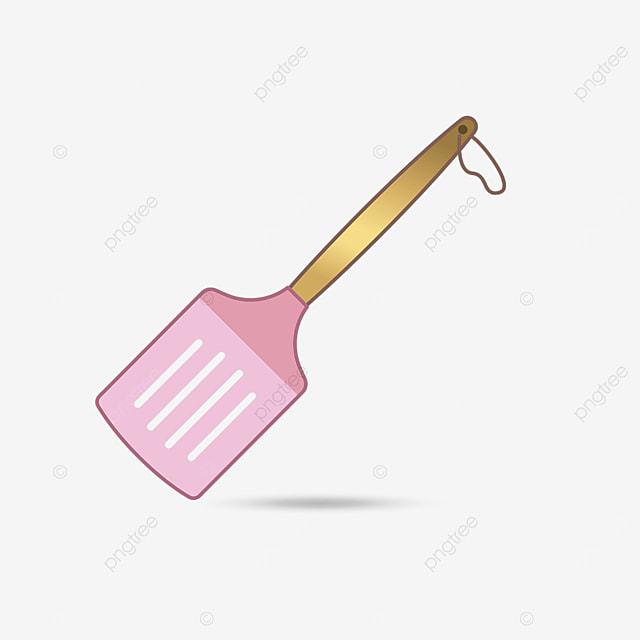 pink spatula clip art