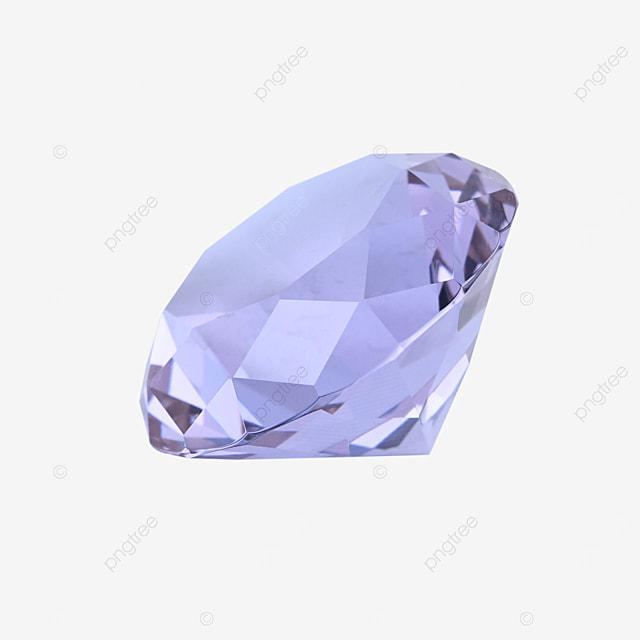 purple decorative diamond jewelry jewelry gift