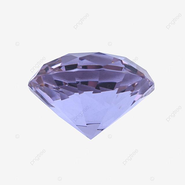 purple diamond jewelry crystal decoration
