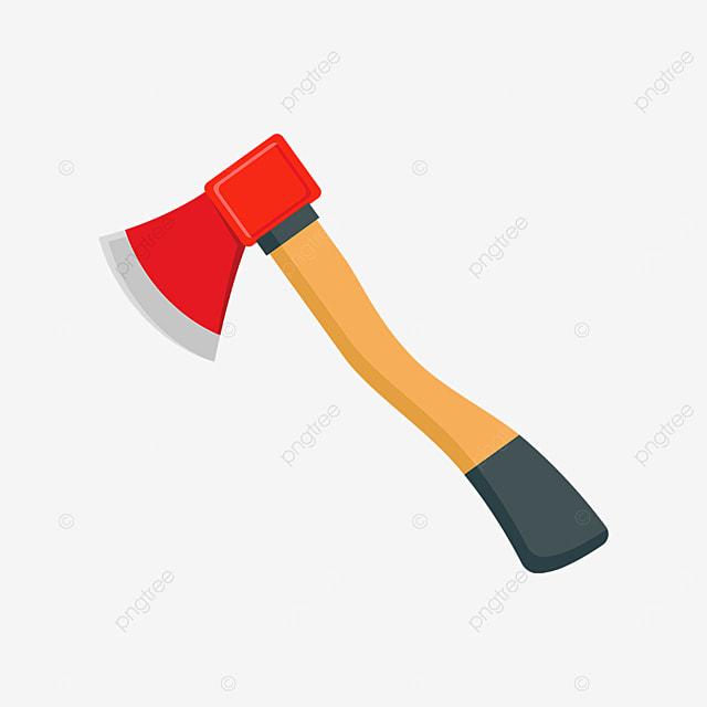 red axe clip art