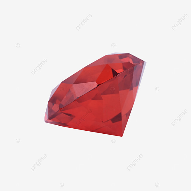 red decorative crystal accessory jewelry
