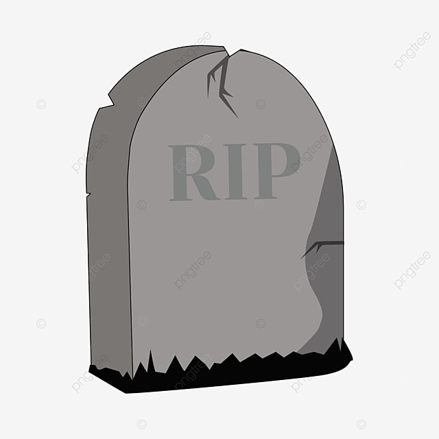 side black mud tombstone clip art