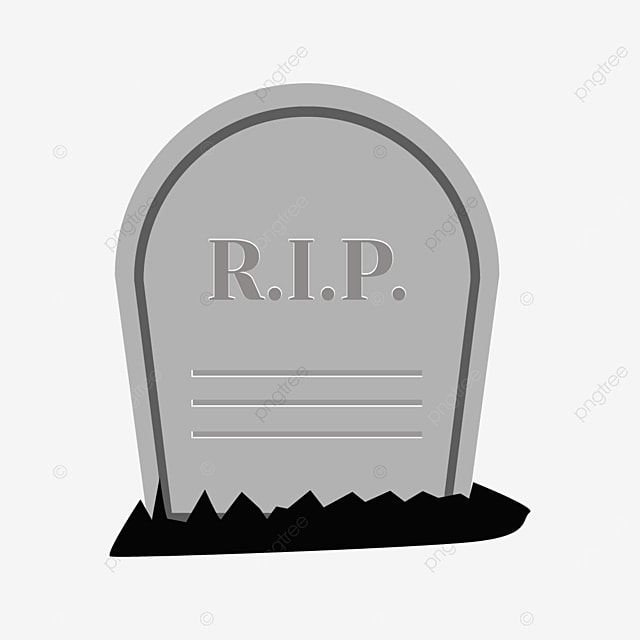 tombstone with inscription on the front clipart