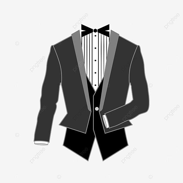 vest tuxedo clip art