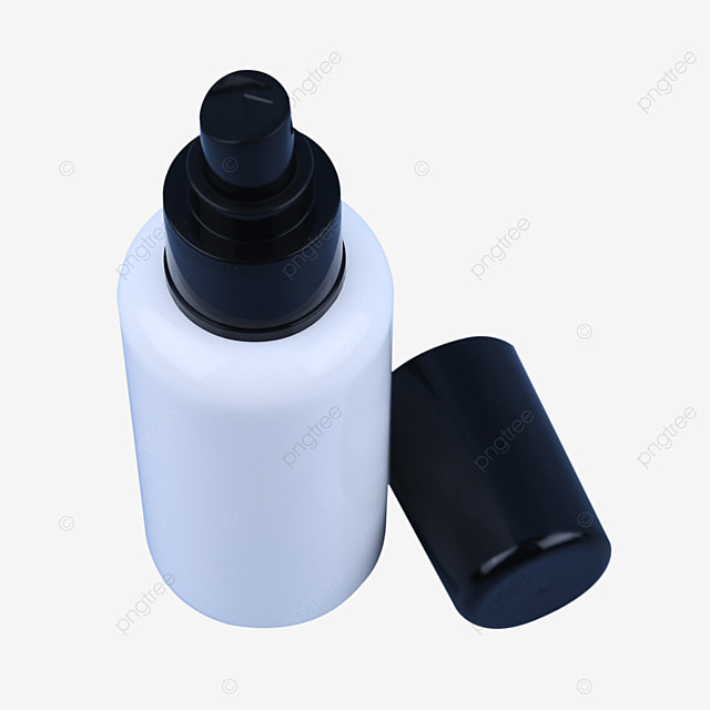 white makeup water spray bottle